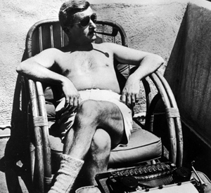 Faulkner in the sunshine- working hard or hardly working?