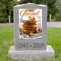 An app may resurrect <i>Gourmet</i>.