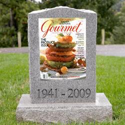 An app may resurrect <i>Gourmet</i>.
