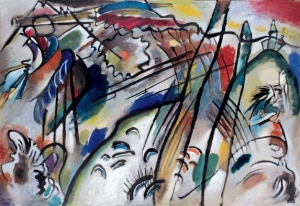 "Kadinsky ""Improvisation 28 (Second Version)"""